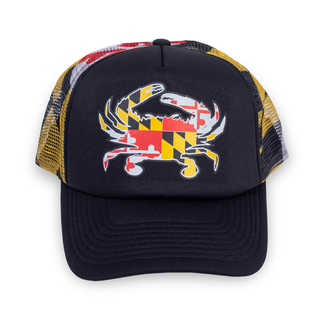 Maryland Crab Trucker Hat - Maryland O Mine