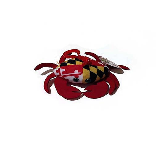 Maryland Crab Zipper Clip - Maryland O Mine