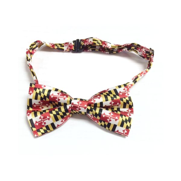 Maryland Flag Bow Tie - Maryland O Mine