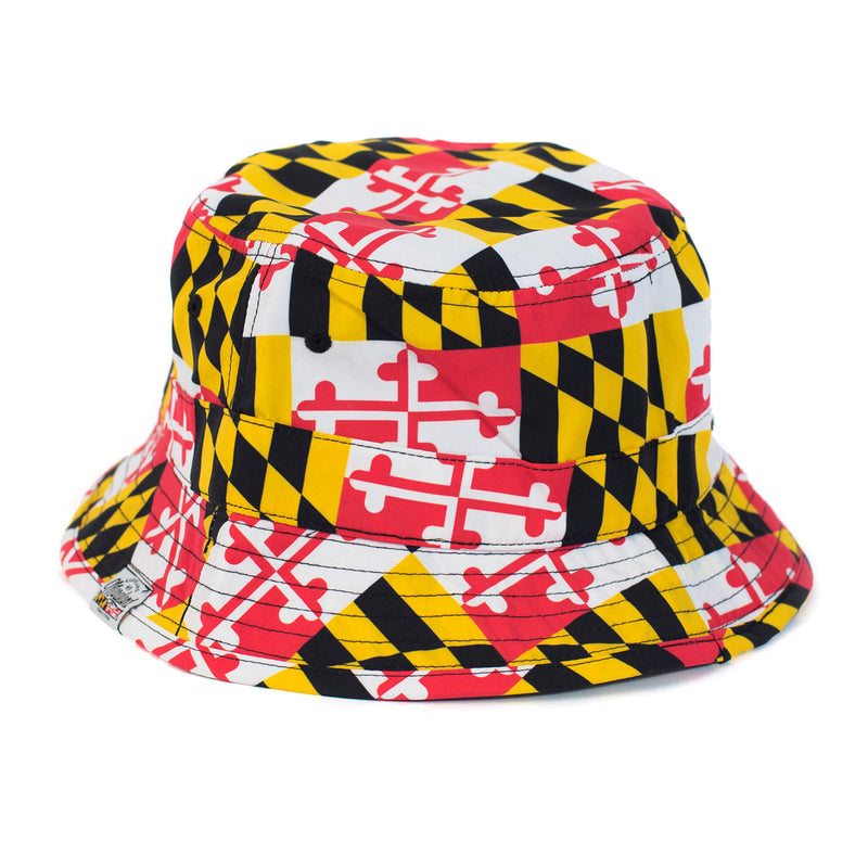Maryland Flag Bucket Hat - Maryland O Mine
