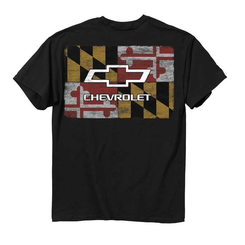 Maryland Flag Chevy T-Shirt - Maryland O Mine