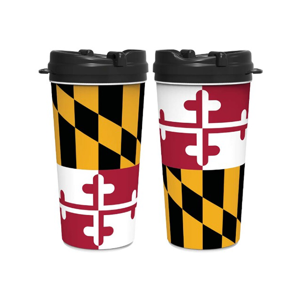 Maryland Flag Coffee Tumbler - Maryland O Mine