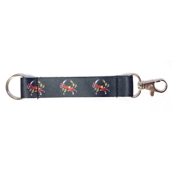 Maryland Crab Key Ring Lanyard - Maryland O Mine