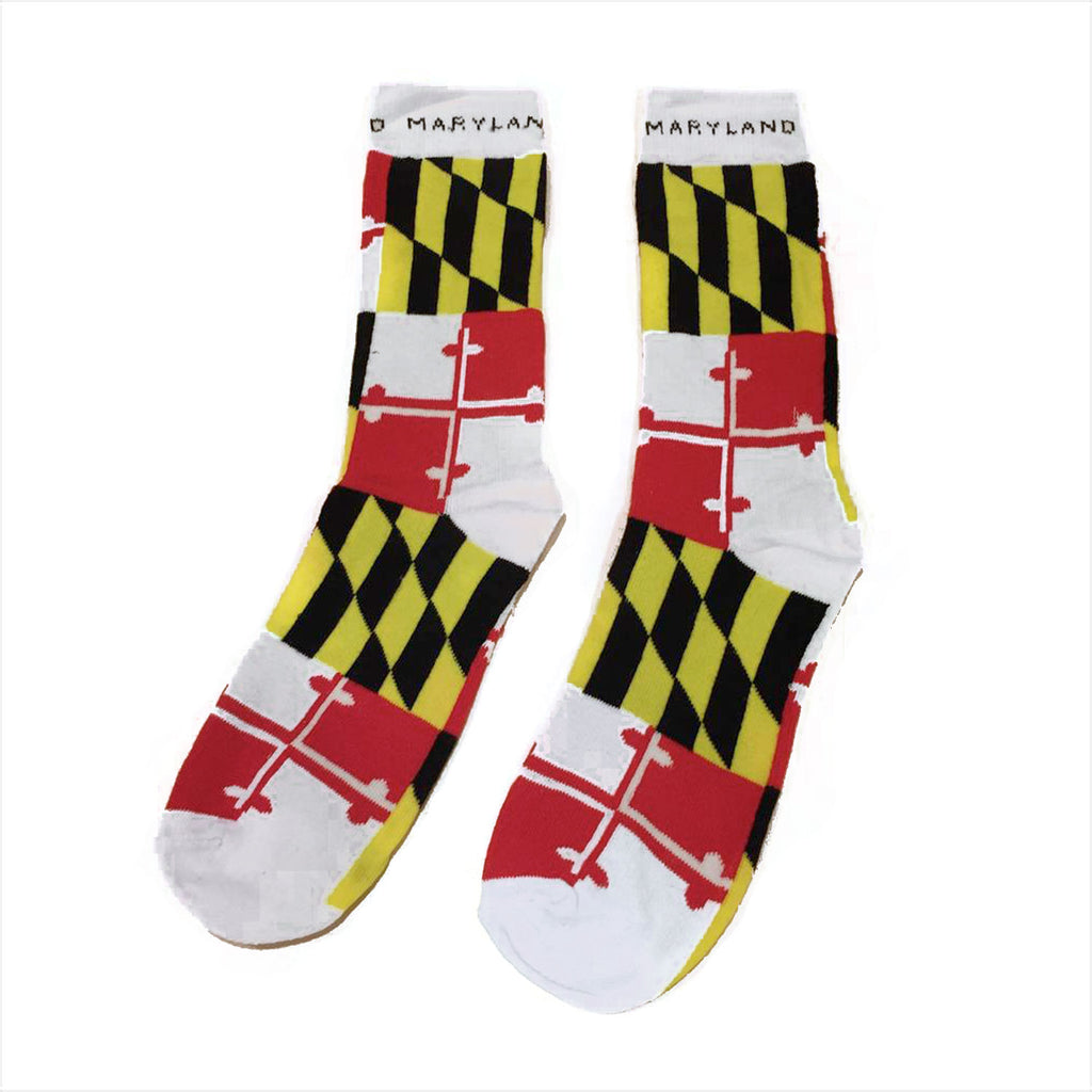 Maryland Flag Dress Socks - Maryland O Mine
