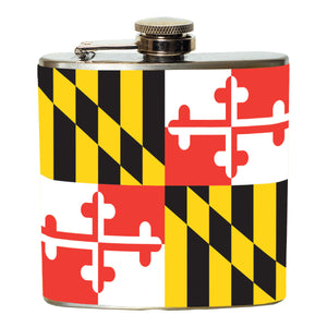 Maryland Flag Flask - Maryland O Mine