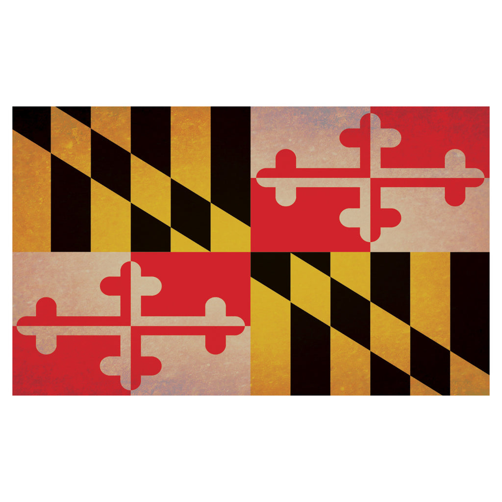 Maryland Flag Floor Mat - Maryland O Mine