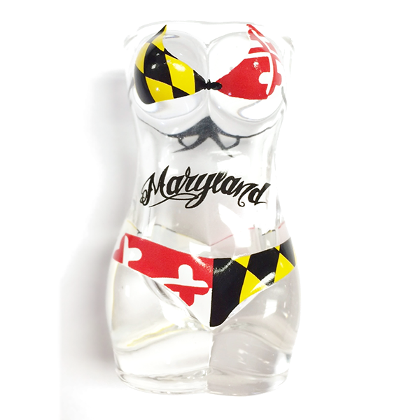 Maryland Flag Full Bikini Shooter - Maryland O Mine