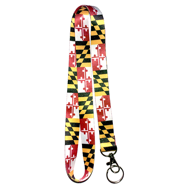 Maryland Flag Lanyard - Maryland O Mine