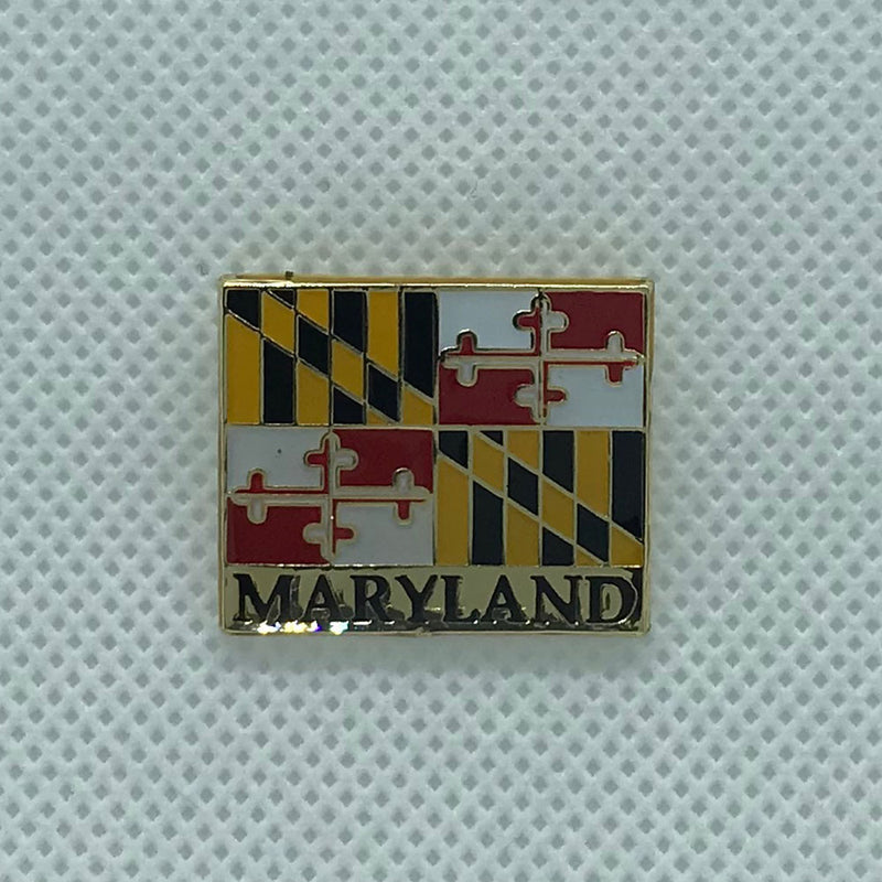 Maryland Flag Lapel Pin - Maryland O Mine