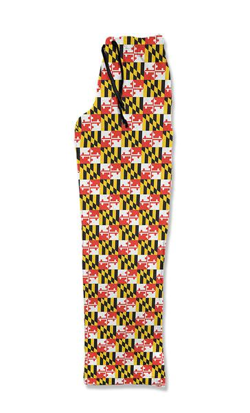 Maryland Flag Lounge Pants - Maryland O Mine