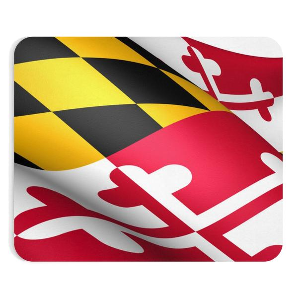 Maryland Flag Mouse Pad - Maryland O Mine
