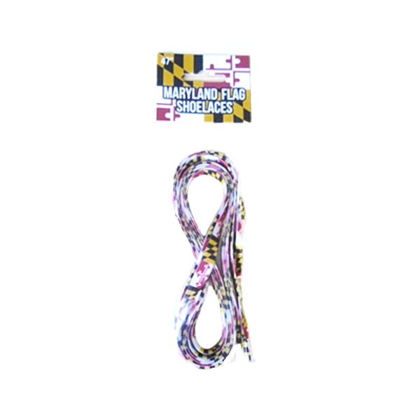Maryland Flag Shoelaces - Maryland O Mine