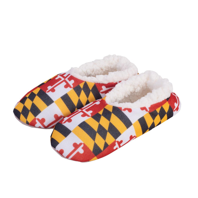 Maryland Flag Slippers - Maryland O Mine