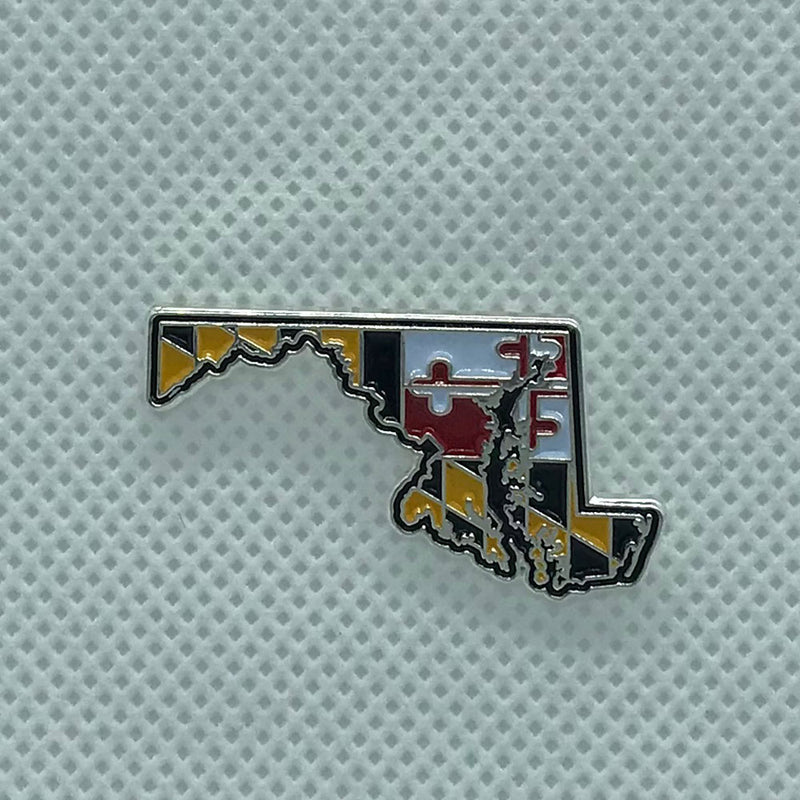 Maryland State Lapel Pin - Maryland O Mine