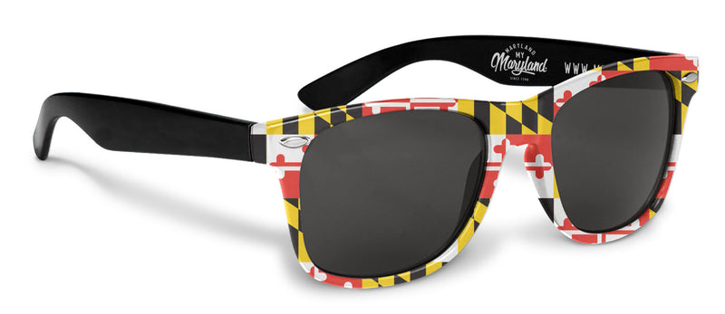 Maryland Flag Sunglasses - Maryland O Mine