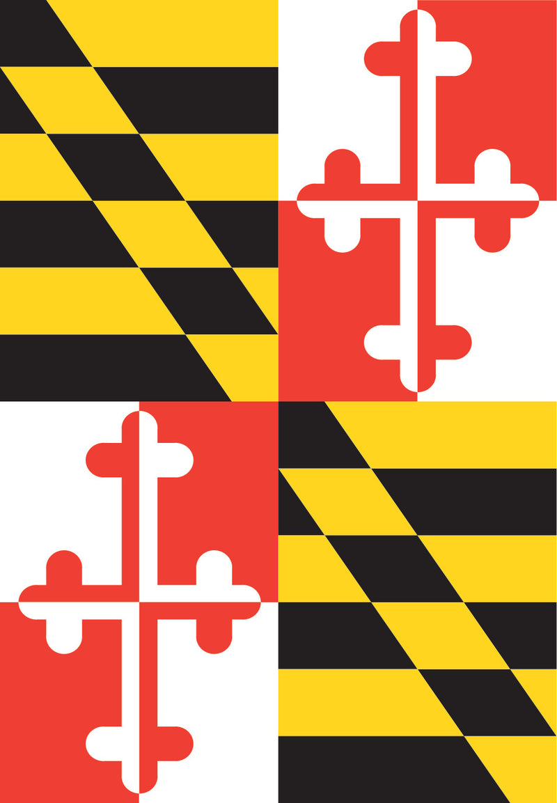 Maryland Garden Flag  - Maryland O Mine