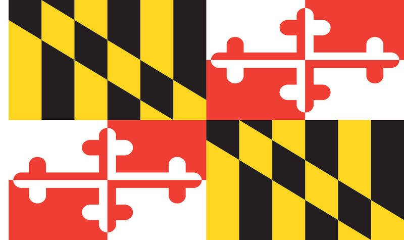 Maryland House Flag - Maryland O Mine