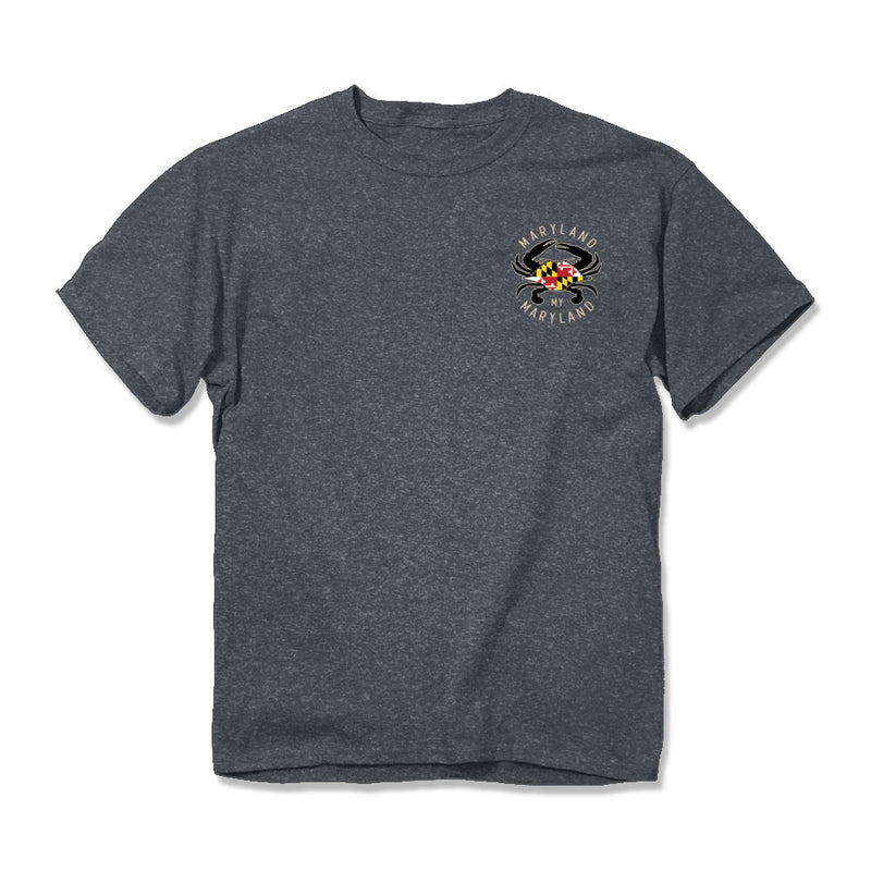 Maryland Pride Anchor T-Shirt - Front - Maryland O Mine
