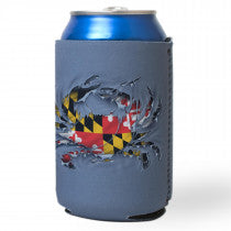 Maryland Ripped Crab Can Holder - Maryland O Mine