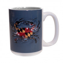 Maryland Ripped Crab Coffee Mug - Maryland O Mine