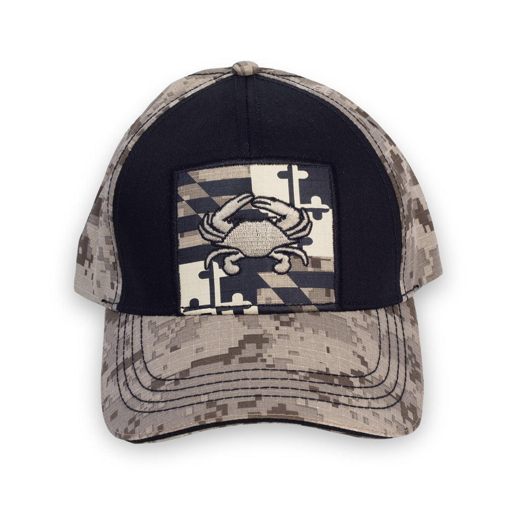 Maryland Tan Digi Hat | Front | Maryland O Mine