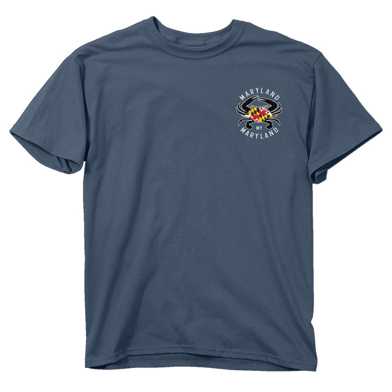 Maryland Tire Cover T-Shirt - Front - Maryland O Mine