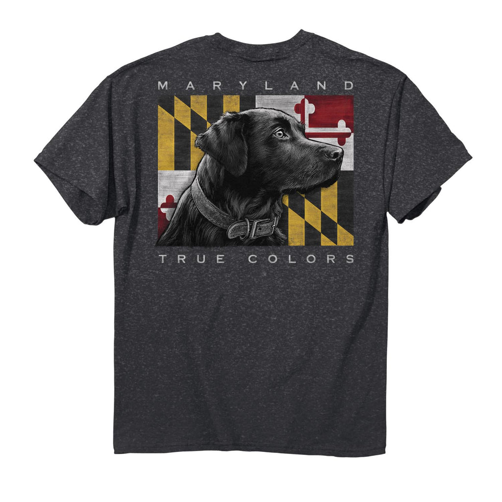 Maryland True Colors Lab T-Shirt - Maryland O Mine