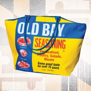 OLD BAY® Beach Tote Bag - Maryland O Mine
