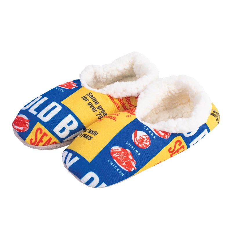 OLD BAY® Can Pattern Slippers - Maryland O Mine