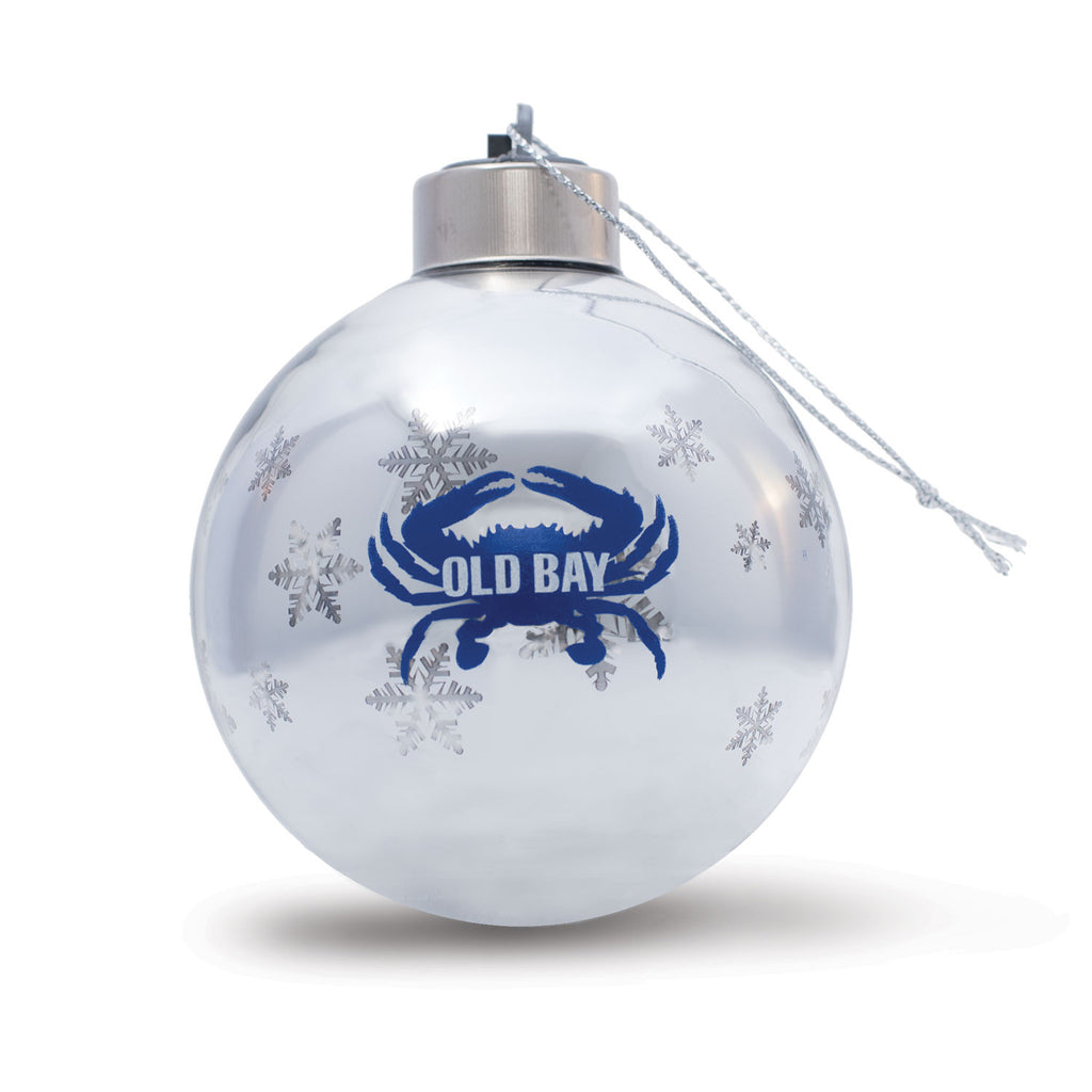 OLD BAY® Crab Light Up Ornament - Maryland O Mine