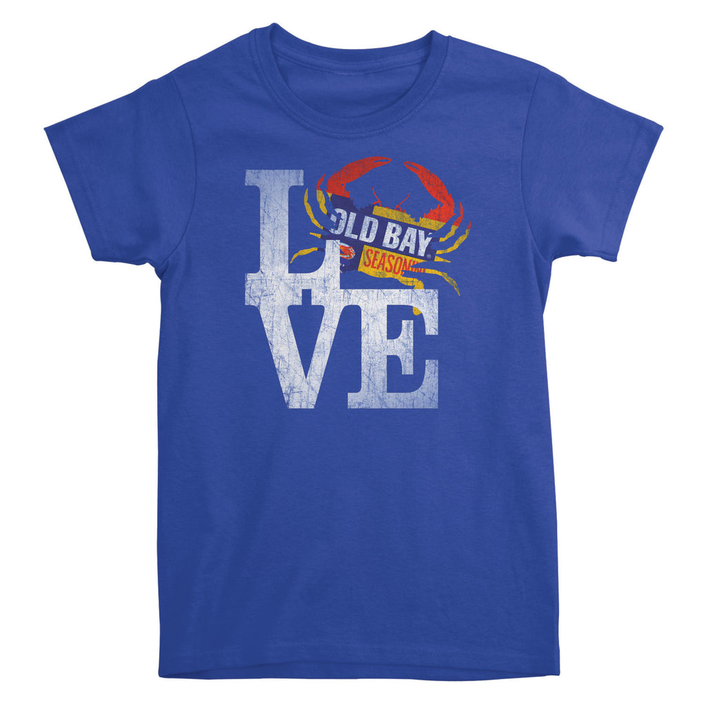 OLD BAY® Crab Love Missy Fit Tee - Maryland O Mine