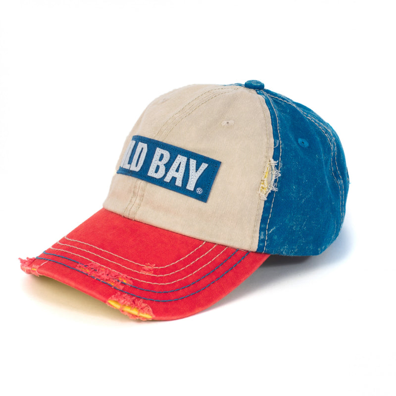 OLD BAY® Logo Hat - Left - Maryland O Mine