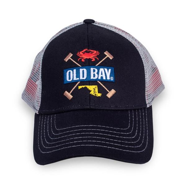 OLD BAY® Mallet X Hat - Front - Maryland O Mine