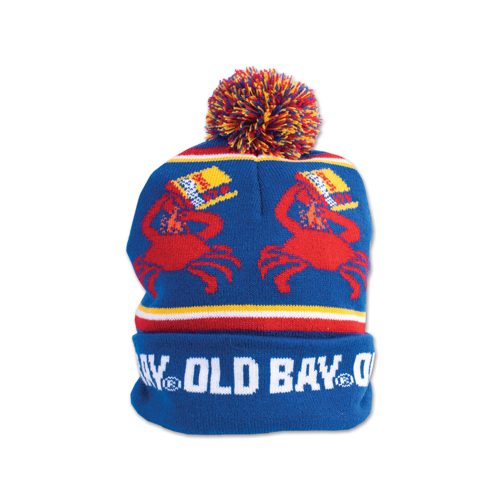 OLD BAY® Open Can Pom Beanie - Maryland O Mine