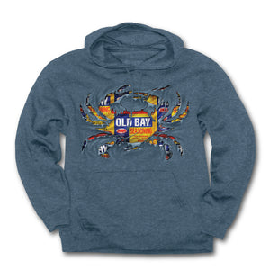 OLD BAY® Ripped Crab Hoodie
