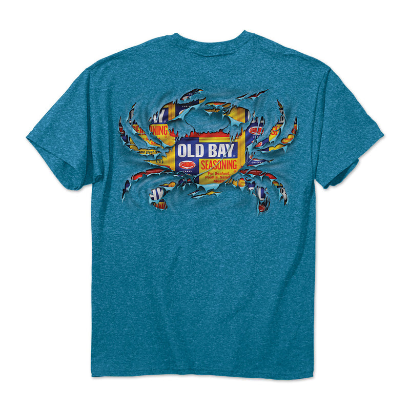 OLD BAY® Ripped Crab T-Shirt - Maryland O Mine
