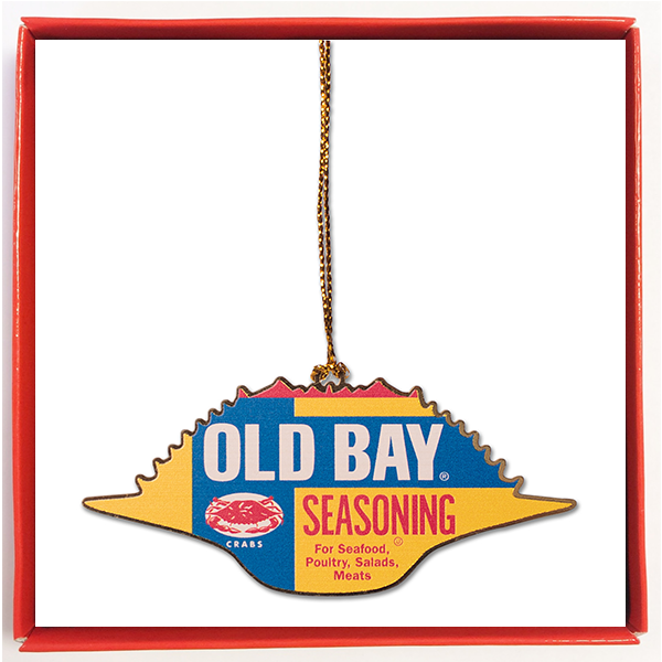 OLD BAY® Crab Shell Ornament - Maryland O Mine