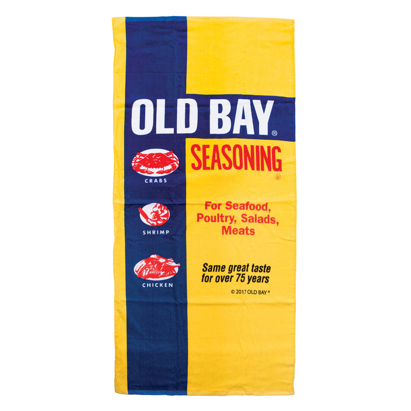 OLD BAY® Beach Towel - Maryland O Mine