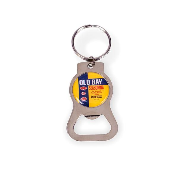 OLD BAY® Can Circle Bottle Opener Key Ring - Maryland O Mine