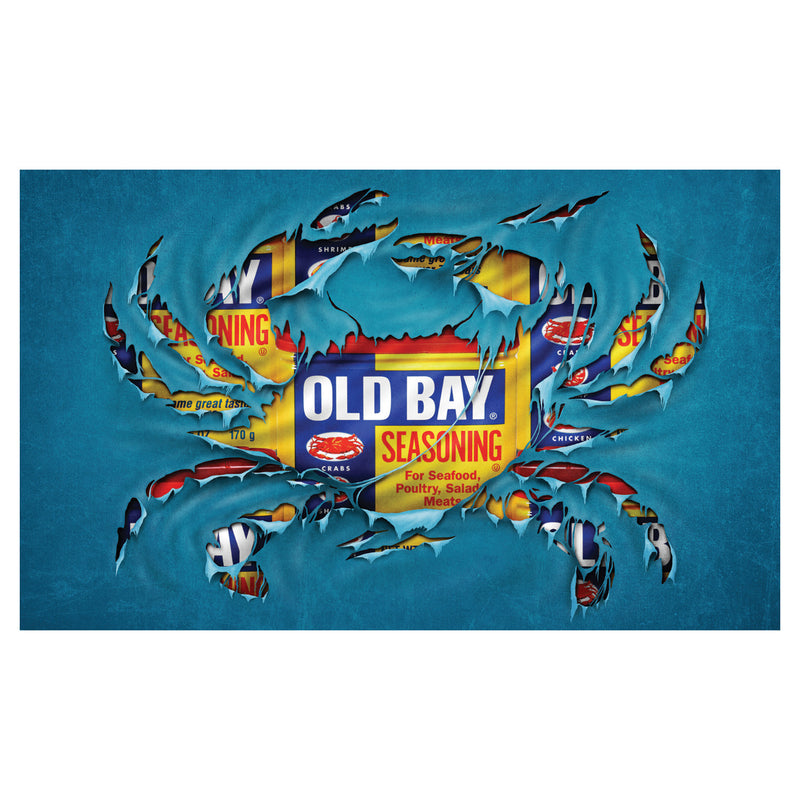 OLD BAY® Crab Floor Mat - Maryland O Mine