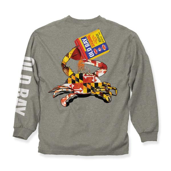 OLD BAY® Open Can Long Sleeve - Maryland O Mine
