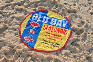 OLD BAY® Circle Beach Towel - Maryland O Mine