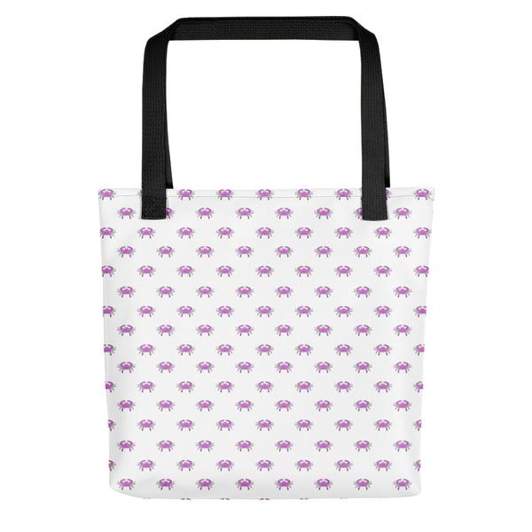 Pink Crab Tote Bag - Maryland O Mine