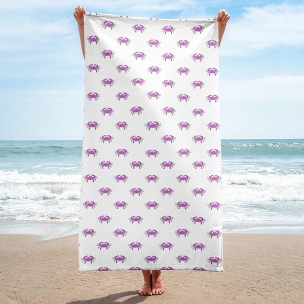 Pink Crab Towel - Maryland O Mine