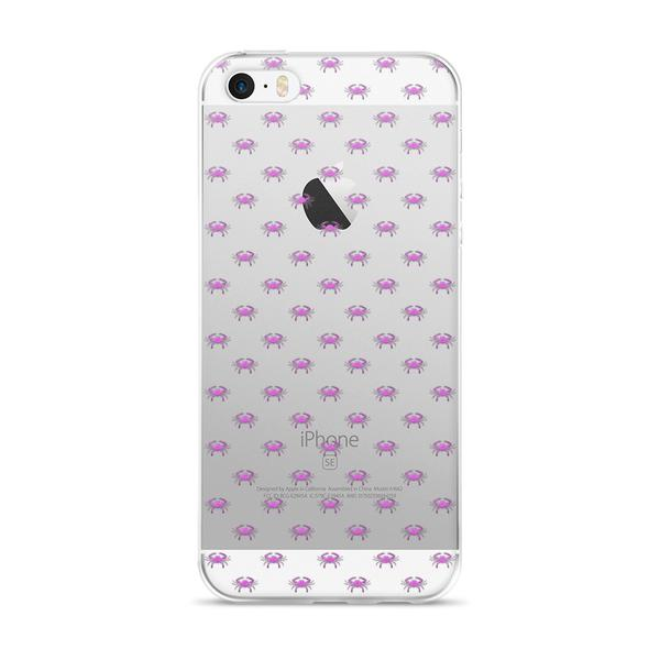 Pink Crab iPhone 5/5s/Se, 6/6s, 6/6s Plus Case - Maryland O Mine