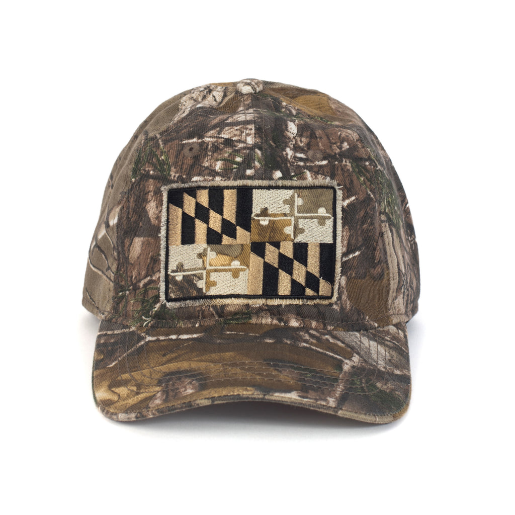 Smooth Operator Full Camo Hat | Front | Maryland O Mine