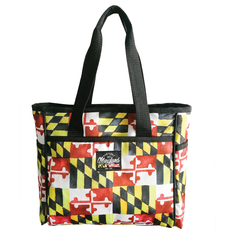 Maryland Flag Insulated Bag - Maryland O Mine