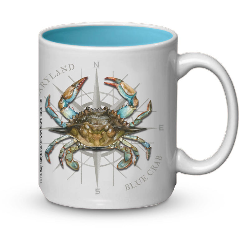 Maryland Blue Crab Coffee Mug - Maryland O Mine