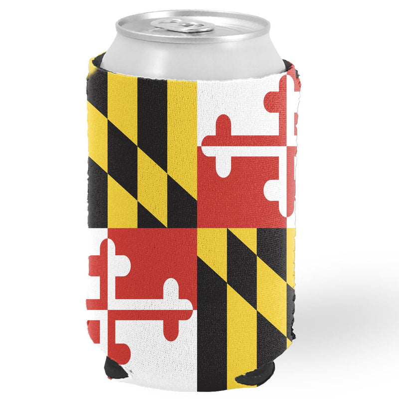 Maryland Flag Can Holder - Maryland O Mine