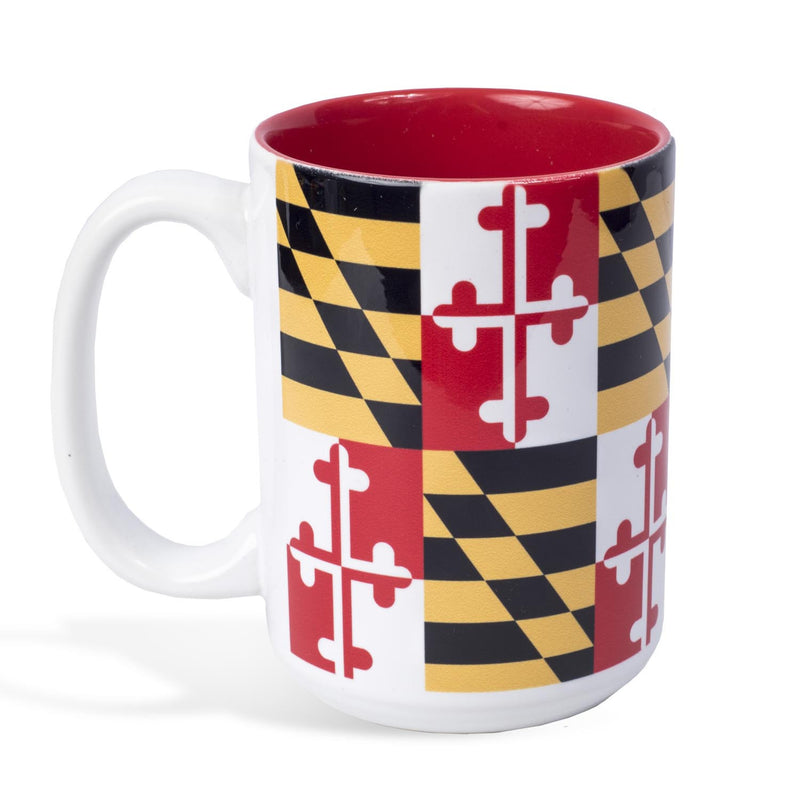 Maryland Flag Coffee Mug - Maryland O Mine